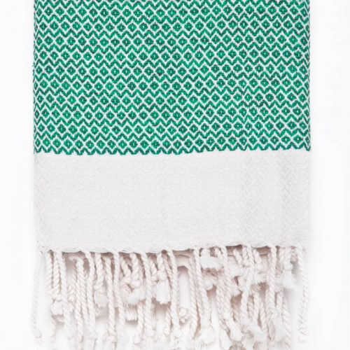 Buldano Diamond Teal Turkish Towel