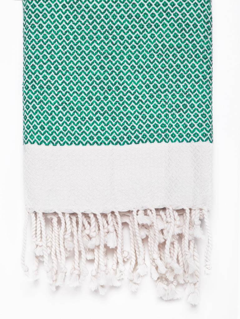 Buldano Diamond Teal Turkish Towel