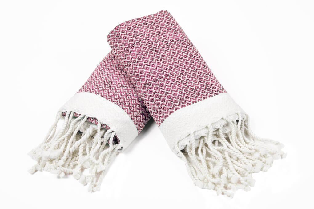 Buldano Diamond Pink Hand Towel