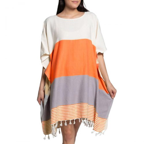 Buldano Tunic Orange Taupe